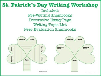 St. Patrick's Day Writer's Workshop
