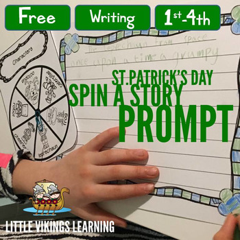 St. Patrick's Day Story Prompt Creator