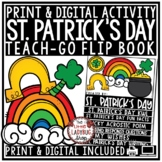 St. Patrick's Day Writing Activities & March Centers St. Patrick's Day Flip Book