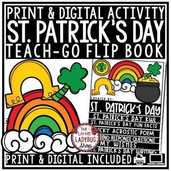 St. Patrick's Day Writing • St. Patrick's Day Flip Book