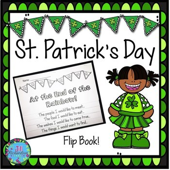 March Activities St. Patrick's Day Writing - DOLLAR DEAL!