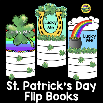 St. Patrick's Day Writing Flip Book Gift - Lucky Me