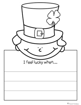 St. Patrick's Day Writing Craftivities