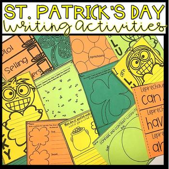 St. Patrick's Day Writing ~ Prompts and Activities