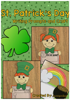 St. Patrick's Day Writing Activities and Craft