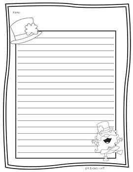 St. Patrick's Day Writing Activity: How to Catch a Leprechaun