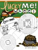 St. Patrick's Day Writing Activity Wheel FREEBIE