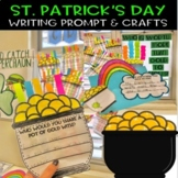 St. Patrick's Day Writing Activity and Craft