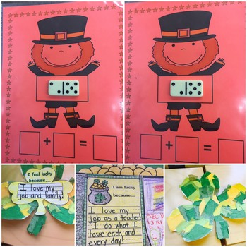St. Patrick's Day Writing, Art, & Math!