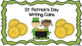 St. Patrick's Day Writing Coins