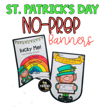 St. Patrick's Day Banner Flag Bulletin Board