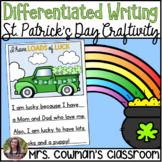 St. Patrick's Day Writing Craft - Loads of Luck