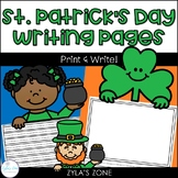 St. Patrick's Day Writing & Craft Pages