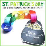 St. Patricks Day Writing Craftivity, St. Patricks Day Craft