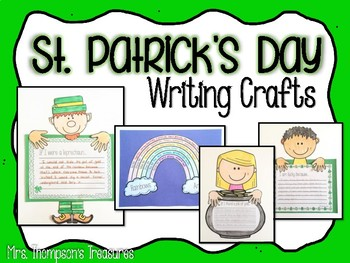 St. Patrick's Day Writing Crafts