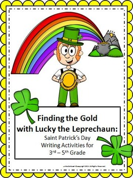 St Patrick's Day Writing: Finding the Gold with Lucky the Leprechaun