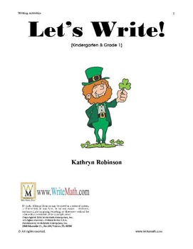 St. Patrick's Day Writing Fun - 5 Unique Writing Activities with Templates