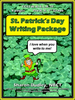 St. Patrick's Day Writing Package