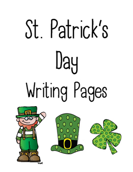 St. Patrick's Day Writing Pages
