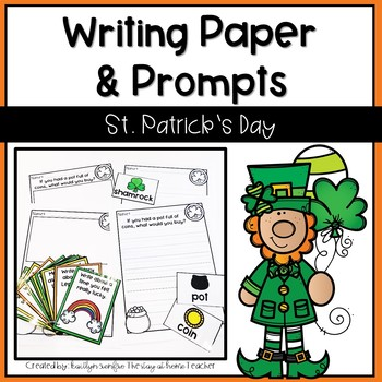 Writing Papers & Prompts St. Patrick's Day