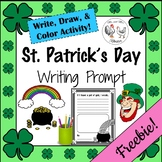 St. Patrick's Day Writing Prompt FREEBIE!