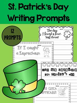St. Patrick's Day Writing Prompt Papers