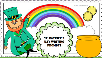 St Patrick's Day Writing Prompts