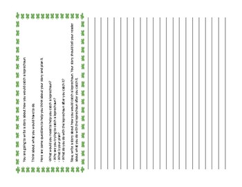 St. Patrick's Day Writing Prompts: ACT Aspire Reflective Narratives