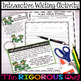 St. Patrick's Day Writing Prompts Center Activity