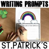St Patrick's Day Writing Prompts K-2