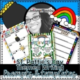 St. Patrick's Day Writing Prompts with Organizing Templates | Types of Writing