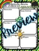 St. Patrick's Day Writing Prompts with Organizing Templates   Types of Writing