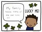 St. Patrick's Day Writing and Coloring Activity