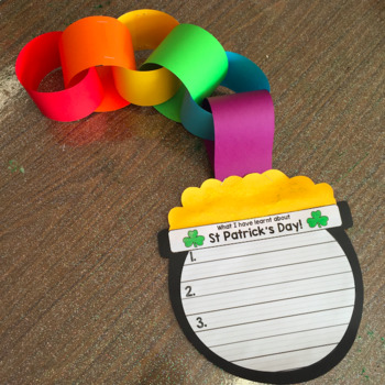 St Patrick's Day Writing and Craft Activity