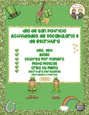 St. Patrick's Day Writing and Fun Activities Spanish