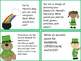 St. Patrick's Day Writing task cards