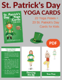St. Patrick's Day Yoga Cards for Kids