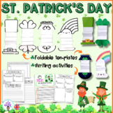 St. Patrick's Day activities- foldable templates and activities