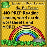 St. Patrick's Day Activities Jamie O'Rourke and the Big Potato Lesson Worksheets