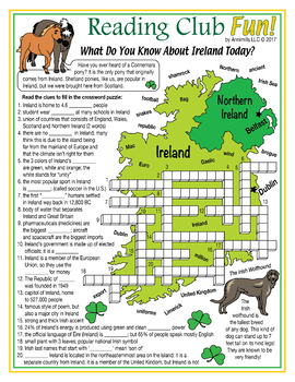 St. Patrick's Day and Interesting Facts About Ireland Set