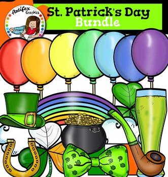 St. Patrick's Day clip art Bundle