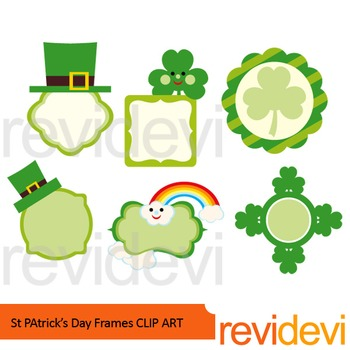 St. Patrick's Day clip art - Frames