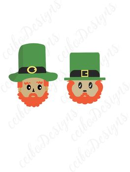 St. Patrick's Day, clip art, SVG, PNG, JPG, vector, Personal and Commercial Use