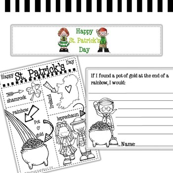 St. Patrick's Day clip art and printables - by Melonheadz