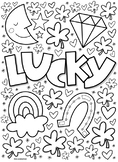 St. Patrick's Day coloring page