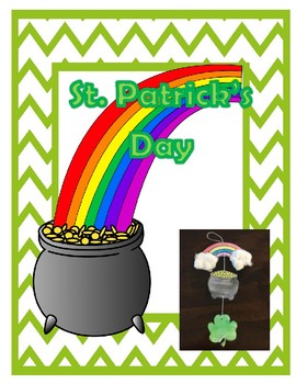 St. Patrick's Day crafts and activities, Leprechaun hat, Rainbow craft, graph...