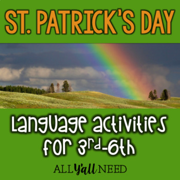 St. Patrick's Day for Speech & Language Therapy - Upper Elementary