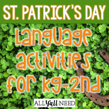 St. Patrick's Day for Speech & Language Therapy - Younger Elementary