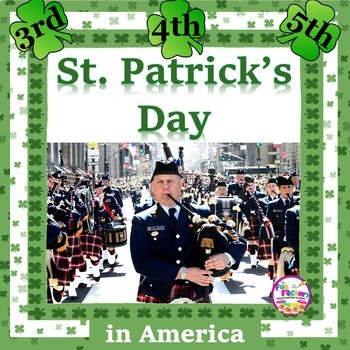 St. Patrick's Day  {Grades 3-5} Common Core Strong!