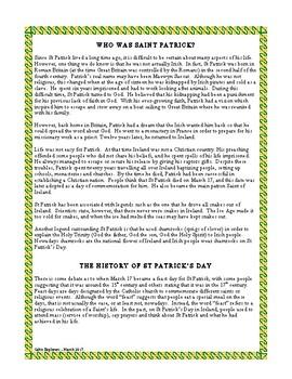 St Patrick's Day in Ireland